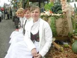 Dożynki gminne w Chmielowicach