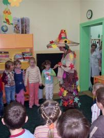 Pani Jesień z dziećmi