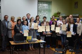 Galeria Międzygminny konkurs pisania